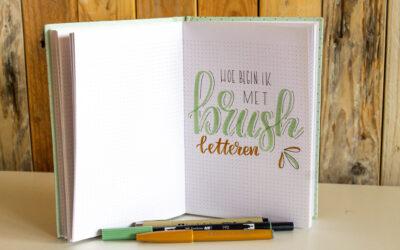 Handletteren voor beginners // brushletteren
